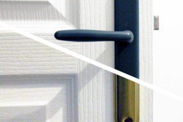 Décoratrice d'intérieur à Lyon - DIY Peindre des poignées de porte en métal - Avant / après