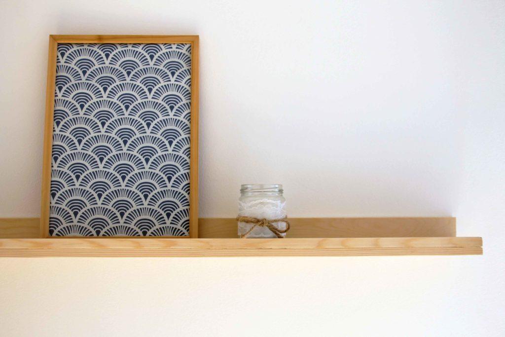Décoratrice d'intérieur à Lyon - DIY Fabriquer une étagère murale pour cadres photo