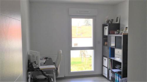 Bureau / Chambre d'amis terracotta - Avant